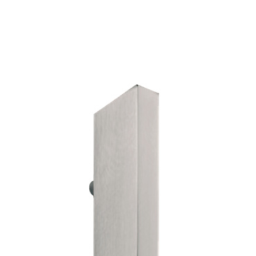 Asa de puerta de entrada, de acero inox y diseño de alta gama.