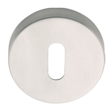 Bocallave oval de inox con corte cilindro