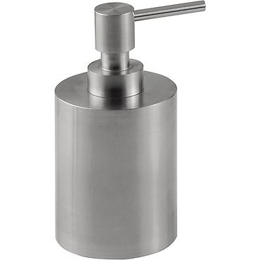 Dosificador de encimera de acero inoxidable mate