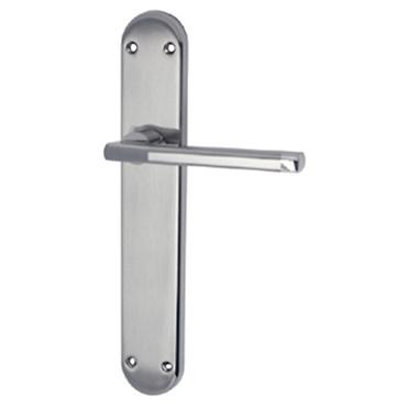 Juego de manivelas solida de aluminio con placa
