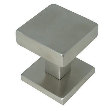 Pomo fijo de puerta de entrada basic square cuadrado53