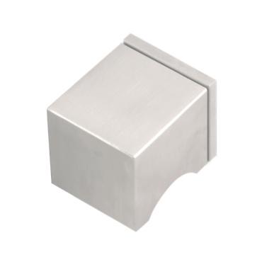 Juego de pomos giratorios de inox square