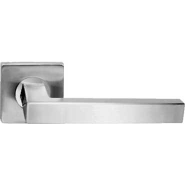 Manivela de roseta de acero inoxidable serie square dismon - Manivela puerta aluminio ...