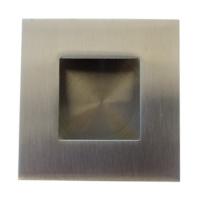 Cazoleta para corredera, de acero inoxidable para embutir, mod nº 11.