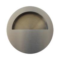 Cazoleta para corredera, de acero inoxidable para embutir, mod nº 4.