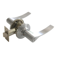 Manivela tapapomo para puerta, acabado aluminio mate
