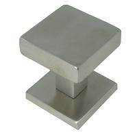 Pomo fijo de puerta de entrada serie Square de 53mm de Formani