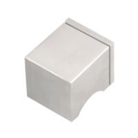 Pomo giratorio de la serie Inox Square de Formani de 50x50mm