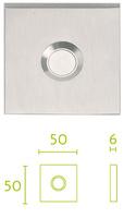 Timbre puerta de entrada serie Square de Formani mod LSQ50
